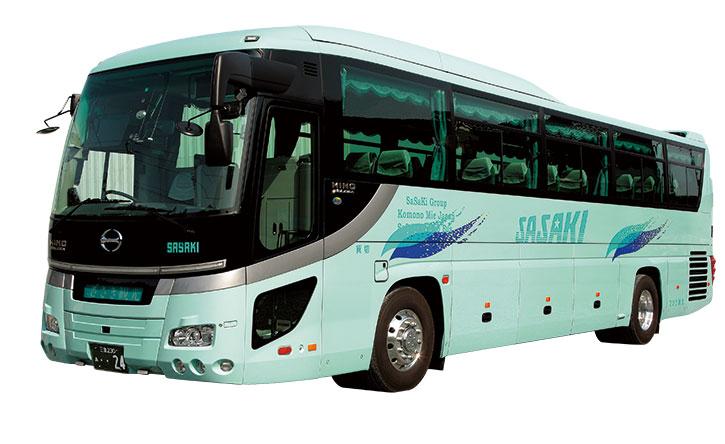 スタイリッシュバス「セレガ」